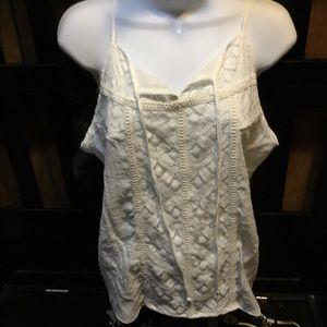 White Lace Cami 💰 2/$20